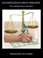 140 ExercÍcios De Direito TributÁrio