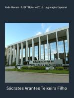 Vade Mecum Tjdft Notário 2019: Legislação Especial