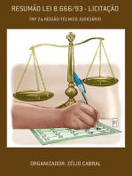 ResumÃo Lei 8.666/93 LicitaÇÃo
