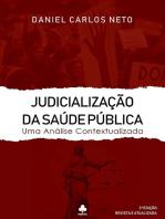 Judicialização Da Saúde Pública