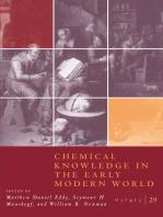 Osiris, Volume 29: Chemical Knowledge in the Early Modern World