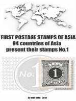 First Postage Stamps of Asia. 94 Countries of Asia Present their Stamps No.1