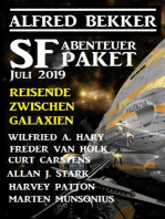 SF Abenteuer Paket Juli 2019 Reisende zwischen Galaxien