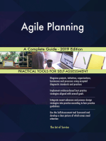 Agile Planning A Complete Guide - 2019 Edition
