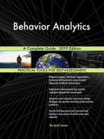 Behavior Analytics A Complete Guide - 2019 Edition
