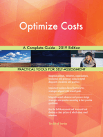 Optimize Costs A Complete Guide - 2019 Edition