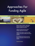 Approaches For Funding Agile A Complete Guide - 2019 Edition