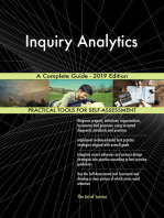 Inquiry Analytics A Complete Guide - 2019 Edition