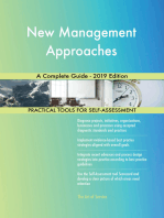 New Management Approaches A Complete Guide - 2019 Edition