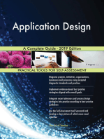 Application Design A Complete Guide - 2019 Edition
