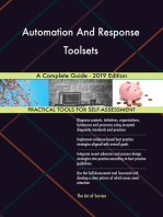 Automation And Response Toolsets A Complete Guide - 2019 Edition