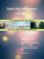Digital Risk Management Solution A Complete Guide - 2019 Edition