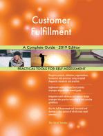 Customer Fulfillment A Complete Guide - 2019 Edition