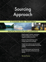 Sourcing Approach A Complete Guide - 2019 Edition