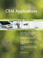 CRM Applications A Complete Guide - 2019 Edition