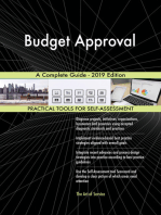 Budget Approval A Complete Guide - 2019 Edition