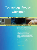 Technology Product Manager A Complete Guide - 2019 Edition