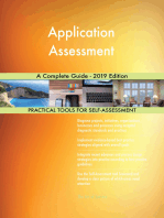 Application Assessment A Complete Guide - 2019 Edition