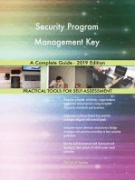 Security Program Management Key A Complete Guide - 2019 Edition