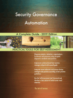 Security Governance Automation A Complete Guide - 2019 Edition