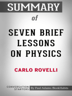 Summary of Seven Brief Lessons on Physics