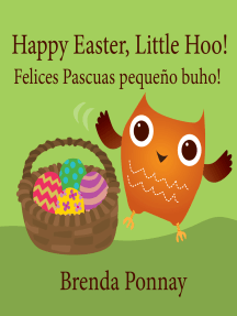 Happy Easter, Little Hoo! / Felices Pascuas pequeño buho!