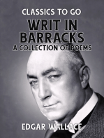 Writ in Barracks A Collection of Poems
