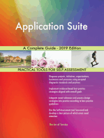 Application Suite A Complete Guide - 2019 Edition