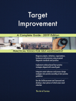Target Improvement A Complete Guide - 2019 Edition