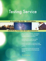Testing Service A Complete Guide - 2019 Edition