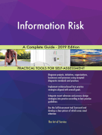 Information Risk A Complete Guide - 2019 Edition