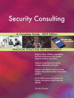 Security Consulting A Complete Guide - 2019 Edition