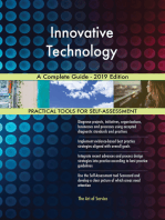 Innovative Technology A Complete Guide - 2019 Edition