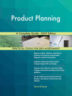 Product Planning A Complete Guide - 2019 Edition