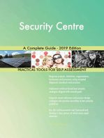 Security Centre A Complete Guide - 2019 Edition