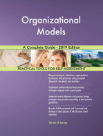 Organizational Models A Complete Guide - 2019 Edition