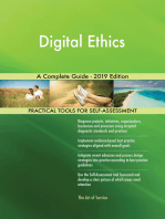 Digital Ethics A Complete Guide - 2019 Edition