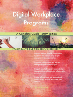 Digital Workplace Programs A Complete Guide - 2019 Edition