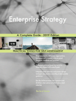 Enterprise Strategy A Complete Guide - 2019 Edition