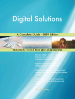 Digital Solutions A Complete Guide - 2019 Edition