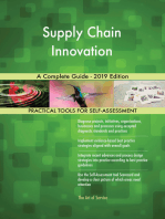 Supply Chain Innovation A Complete Guide - 2019 Edition