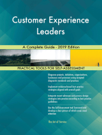 Customer Experience Leaders A Complete Guide - 2019 Edition