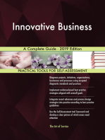 Innovative Business A Complete Guide - 2019 Edition