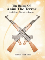 The Ballad Of Anini The Terror And Other Narrative Poems