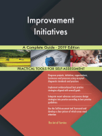 Improvement Initiatives A Complete Guide - 2019 Edition