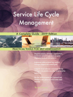 Service Life Cycle Management A Complete Guide - 2019 Edition