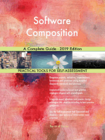 Software Composition A Complete Guide - 2019 Edition