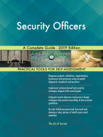 Security Officers A Complete Guide - 2019 Edition