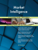 Market Intelligence A Complete Guide - 2019 Edition