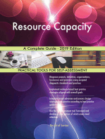 Resource Capacity A Complete Guide - 2019 Edition